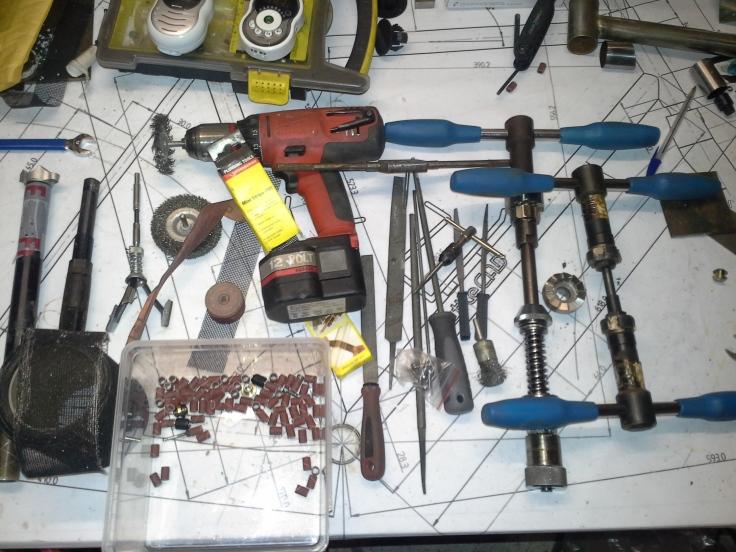 frame finishing tools